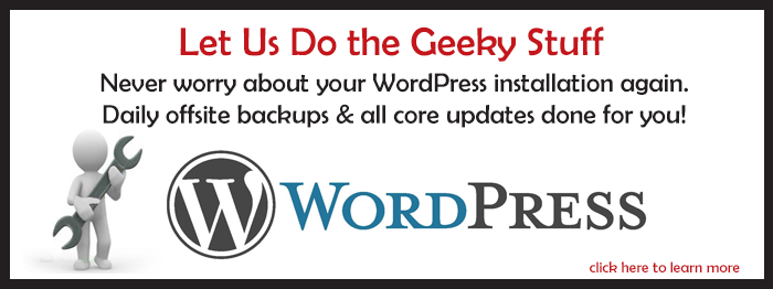 WordPress Maintenance Done For You