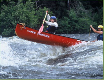 Navigate the Rapids with Red Canoe