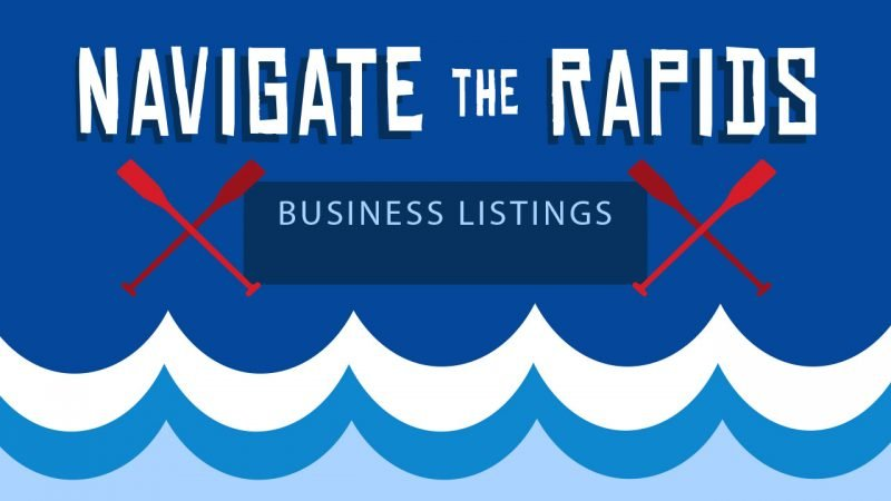 Navigate the Rapids episode 28 Online Business Listings